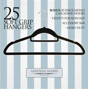 Amanda Maree Clothes Hnagers no slip