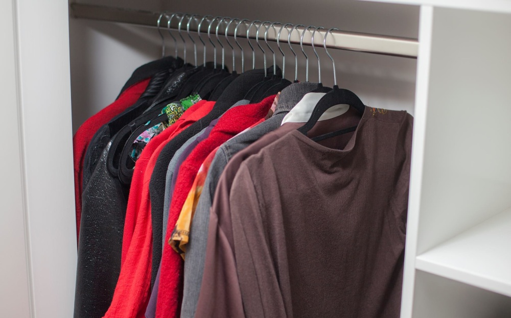 Here it is: The simple solution to an elegant closet and increased capacity